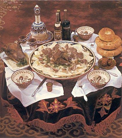 Казахские национальные блюда из мяса, Cooks - Повара Казахстана