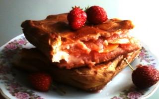 пирог с фрктовой начинкой