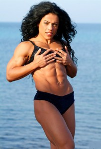 mavi-gioiy-6-pack-abs-female-muscle