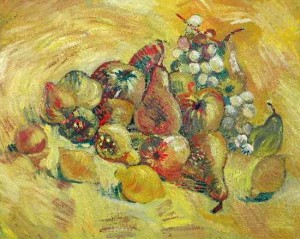 Ван Гог «Натюрморт с фруктами»