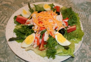 Crab Louie Salad 1 16 11