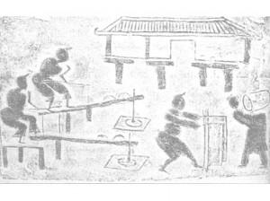 Производство мороженого в древнем Китае
