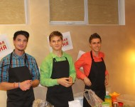 Справа - Максим, в центре - Андрей, слева - Александр