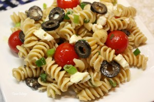 Recipe-Greek Pasta Salad 001