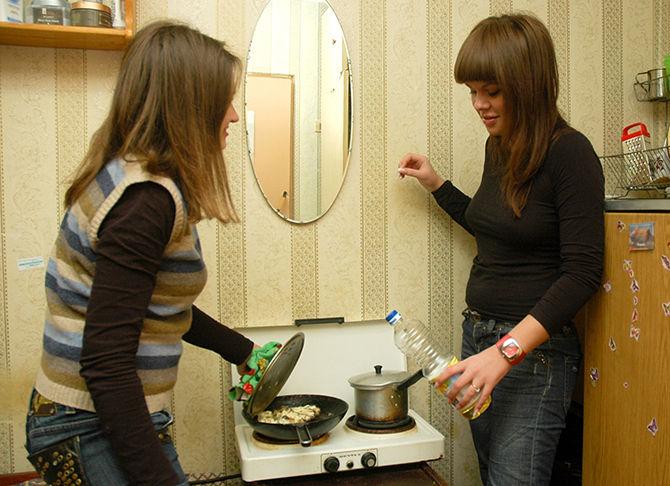 В студенческом общежитии Нижнего Новгорода