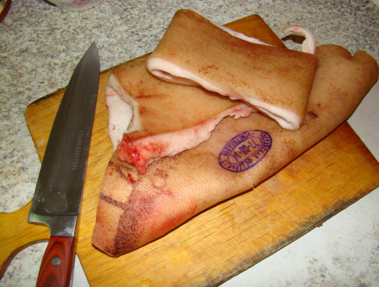 Свиные шкуры рецепт пошагово