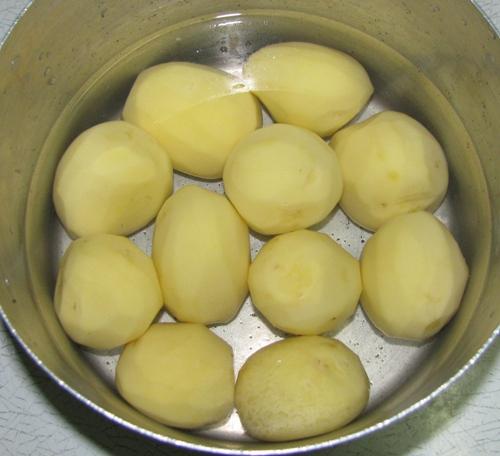 Как варить картошку фото рецепт