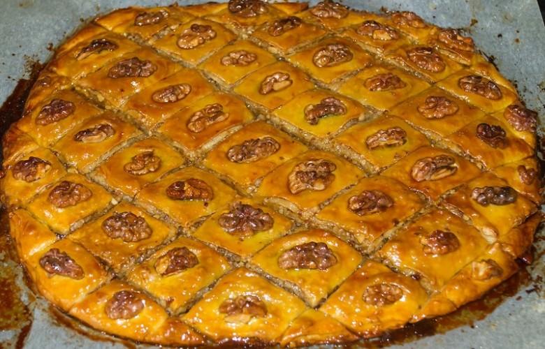 Пахлава азербайджанская рецепт пошагово в домашних