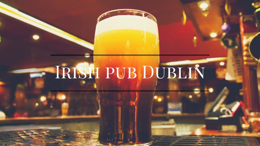 Irish pub Dublin,