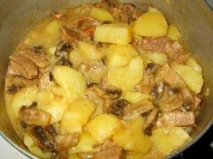 Картофель-с-грибами