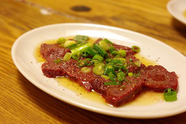 Beef-liver-sashimi