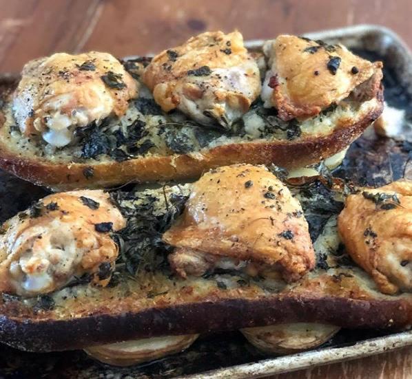 куриный хлеб